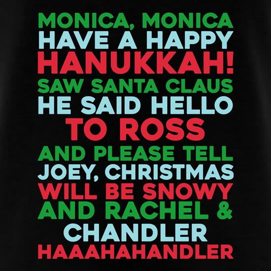 Friends Christmas Song t-shirts