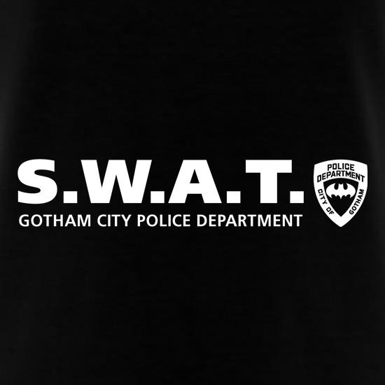 Gotham City Police Department - SWAT t-shirts