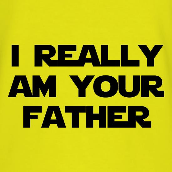 i really am your father t-shirts