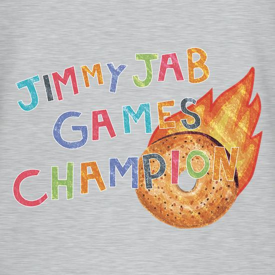 Jimmy Jab Games t-shirts