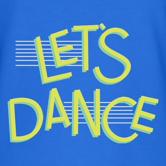 Let's Dance t-shirts