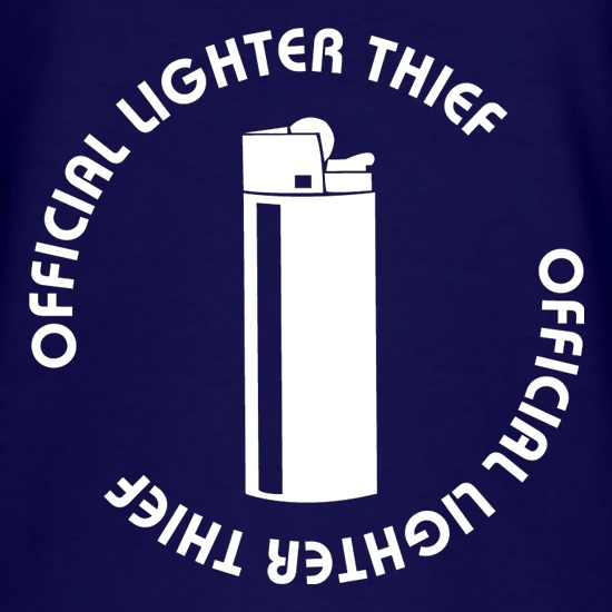 Official Lighter Thief t-shirts