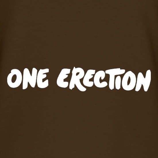 One Erection t-shirts