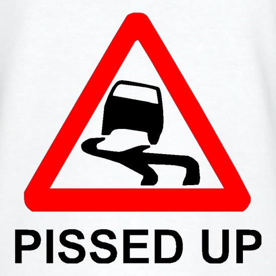 Pissed Up t-shirts