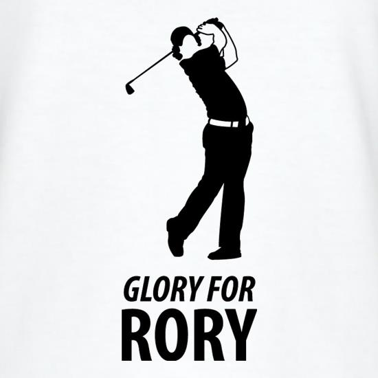 Rory McIlroy - Glory For Rory t-shirts