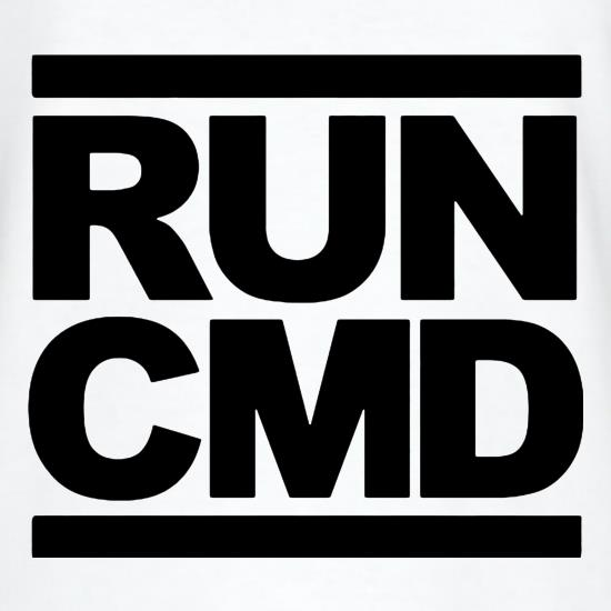 RUN CMD t-shirts