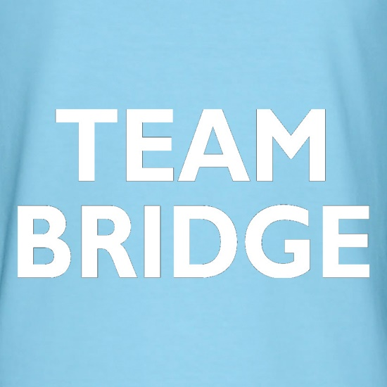 Team Bridge t-shirts