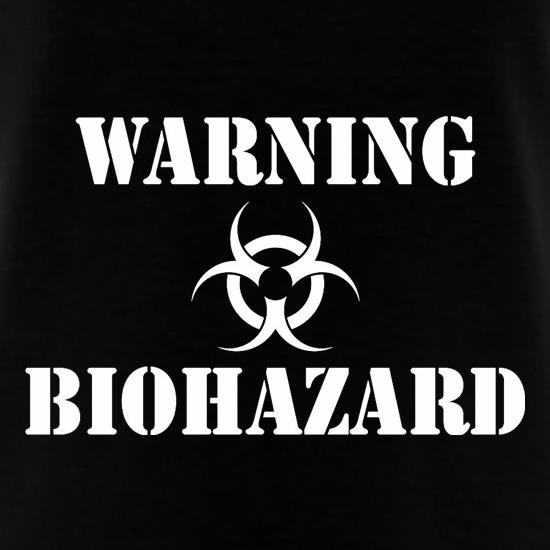 Warning Biohazard t-shirts