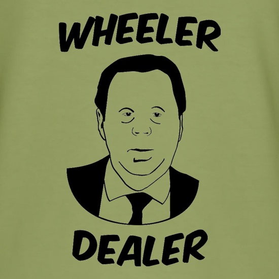 Harry Redknapp Wheeler Dealer t-shirts