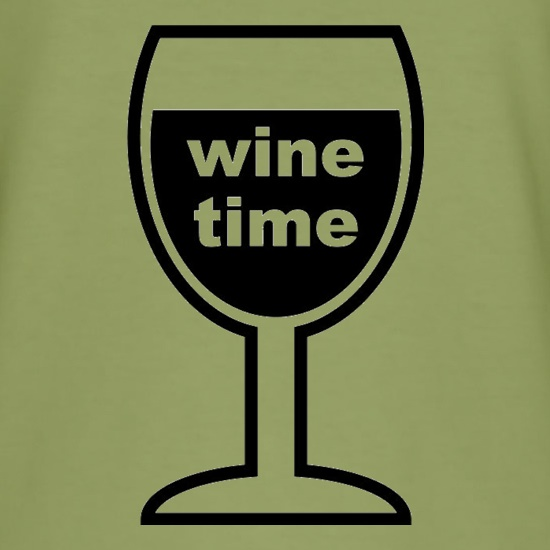 Wine Time t-shirts