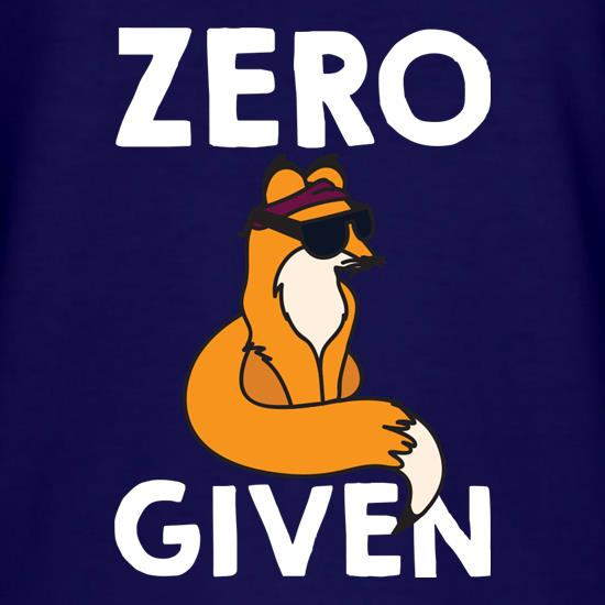 Zero Fox Given t-shirts
