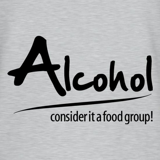 Alcohol - consider it a food group V-Neck T-Shirts