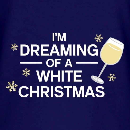 Dreaming Of A White Christmas V-Neck T-Shirts