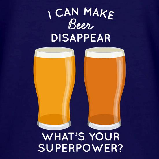 I Can Make Beer Disappear V-Neck T-Shirts