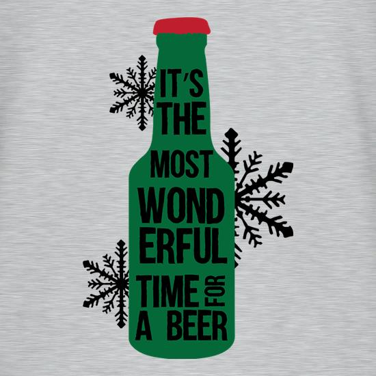 It's The Most Wonderful Time For A Beer V-Neck T-Shirts