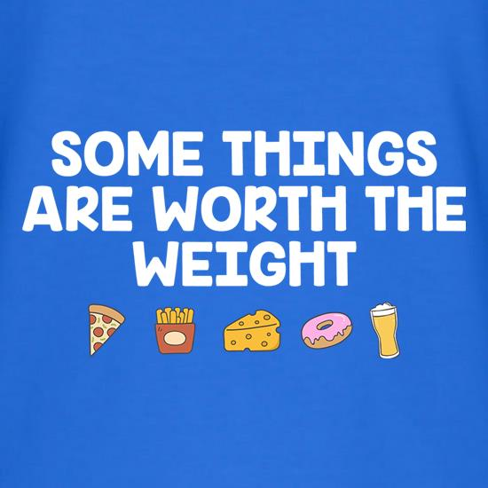 Some Things Are Worth The Weight V-Neck T-Shirts