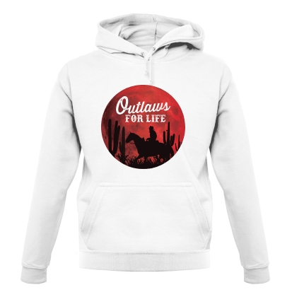 Outlaws For Life Hoodie By CharGrilled