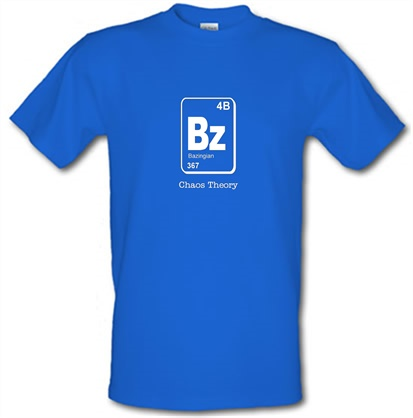 Bazinga chaos theory t shirt by chargrilled bazinga chaos theory t shirt urtaz Image collections
