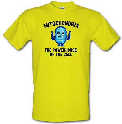 30a2d2bac Mitochondria - The Powerhouse Of The Cell T Shirt By CharGrilled