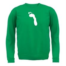Footprint t shirt