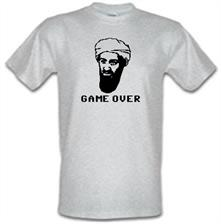 Bin Laden Game Over t shirt