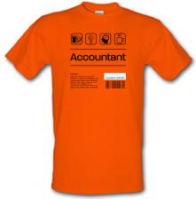 Accountant Ingredients t shirt