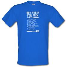BBQ Rules for Men t shirt
