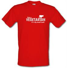 Being a vegetarian - it's a big missed steak! t shirt