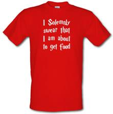 I Solemnly Swear That I Am About To Get Food t shirt