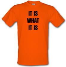 It Is What It Is Quote t shirt