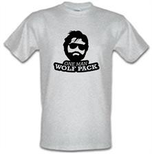 One Man Wolf Pack t shirt