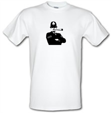 Bent cops burn crops t shirt
