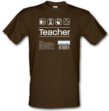 Teacher Ingredients t shirt