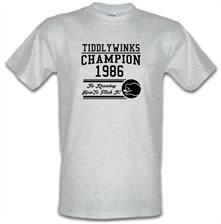 Tiddlywinks Champion 1986, It's Knowing How To Flick It t shirt