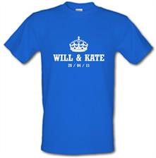 Will And Kate Royal Wedding t shirt