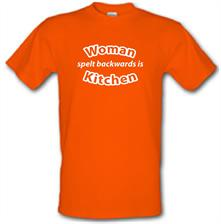 Woman Spelt Backwards Is Kitchen t shirt
