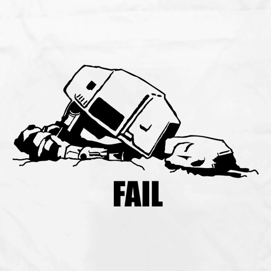 ATAT Fail t shirt