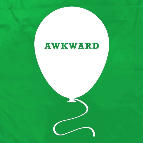 Awkward Balloon t shirt