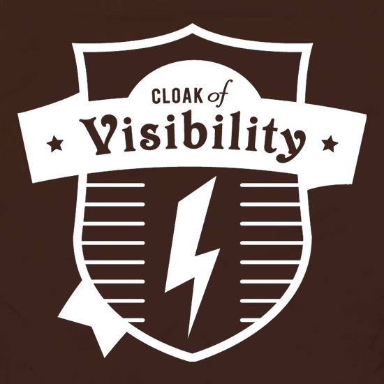 Cloak Of Visibility t shirt