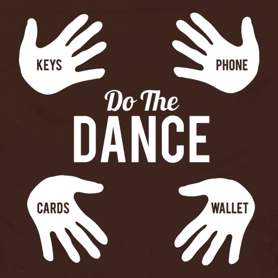 Do The Wallet Dance t shirt