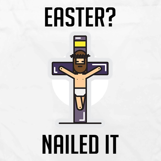 Easter Nailed It t shirt