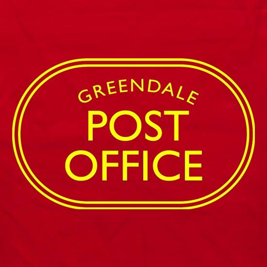 Greendale Post Office t shirt