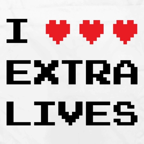 I Heart Extra Lives t shirt