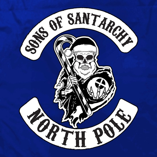 Sons Of Santarchy North Pole t shirt