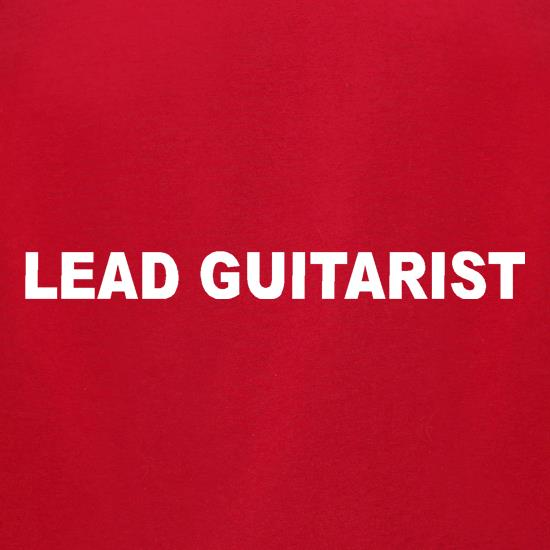Lead Guitarist t shirt