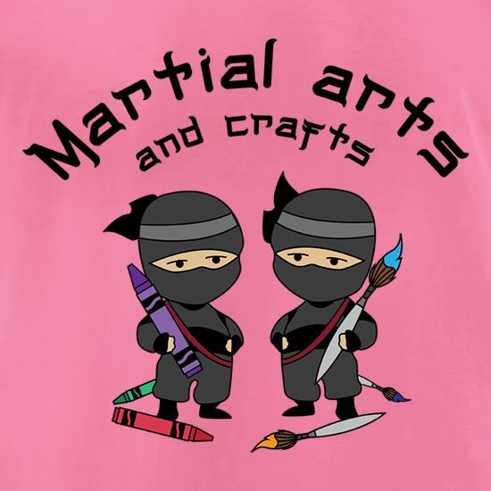 Martial Arts And Crafts t shirt