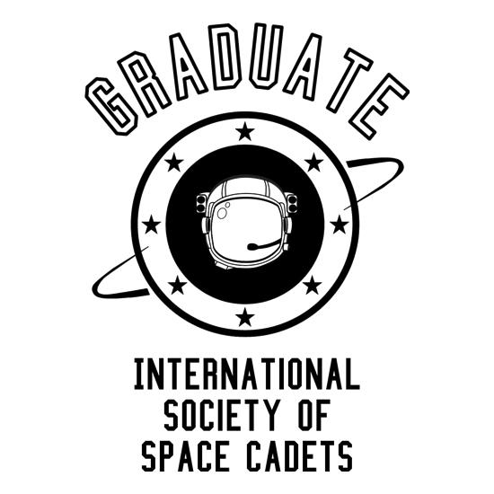 Graduate - International Society of Space Cadets t shirt