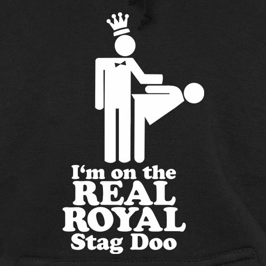 I'm on the real royal stag doo t shirt