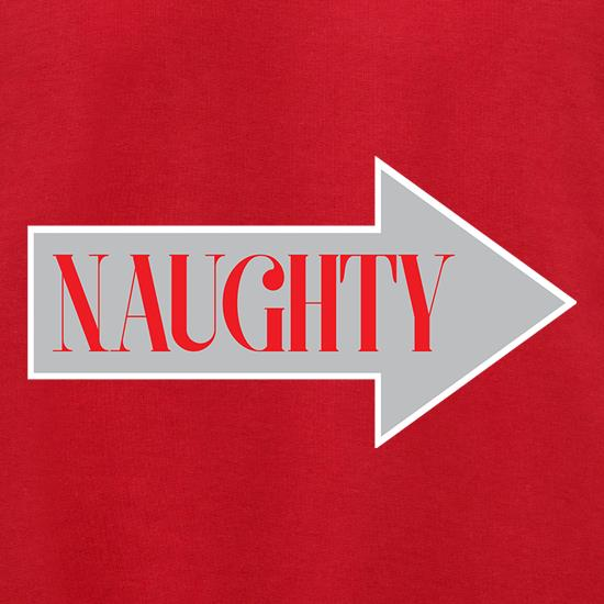 Naughty Arrow t shirt