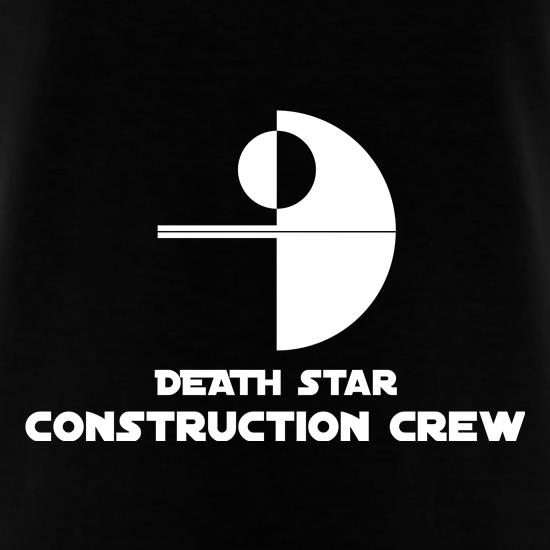 Death Star Construction Crew t shirt